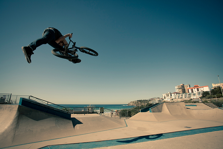 Dirty Steel BMX Bondi Beach