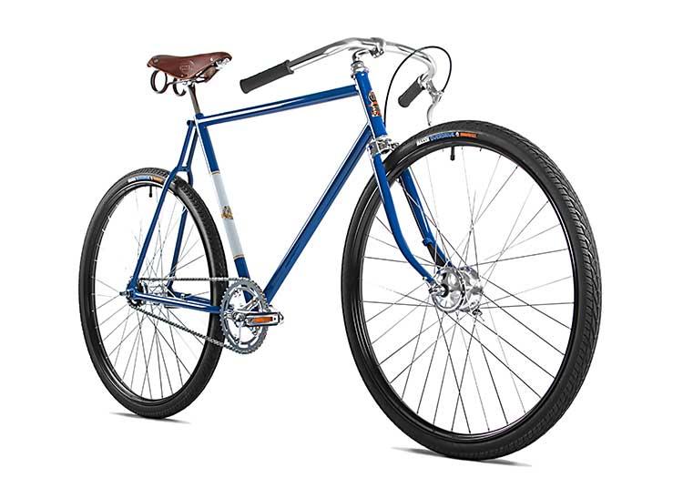 Garage 271 Challenger Fahrrad Vintage blau