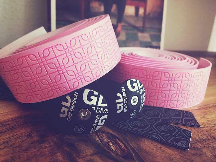 GD Microfiber handlebar tape pink