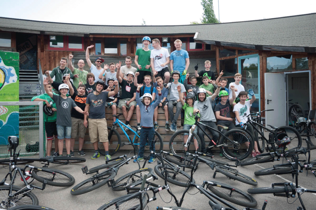 leafcycles build to ride camp stuttgart