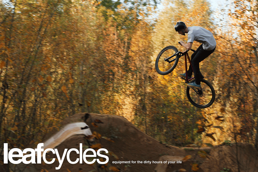 leafcycles dirt jumping bike brand