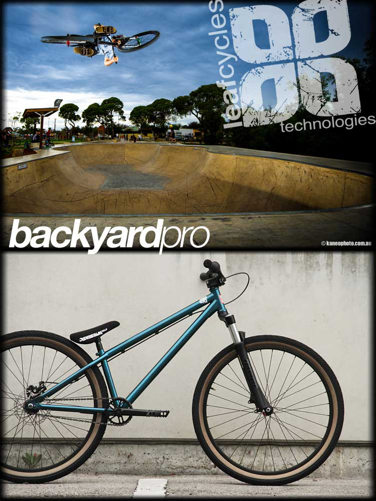 Leaf cycles Backyard Pro Komplettrad