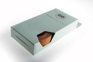 GD-Grips Leder-Lenkerband Verpackungsdesign