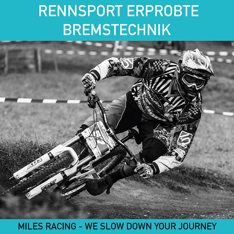 Miles Racing - Rennsport erprobte Bremstechnik