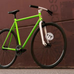 Leafcycles - neon green gipsy - limited edition