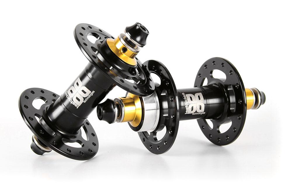 Leafcycles Fixed-Gear premium parts - Malaria Fixed-Gear Nabensatz - black