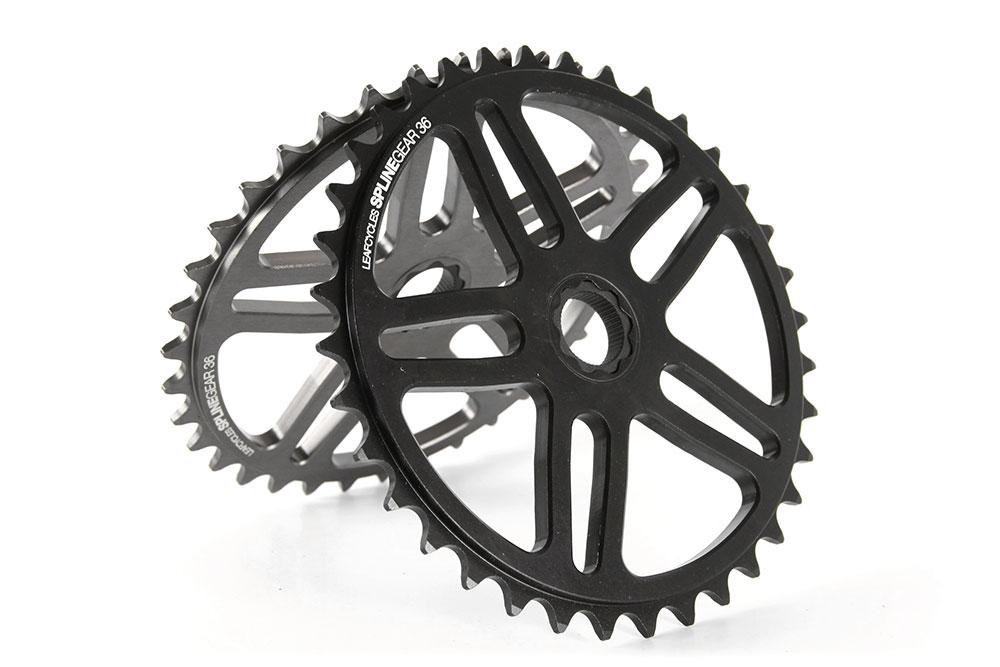 Leafcycles spline gear spline drive sprocket for fixed-gear bicycles