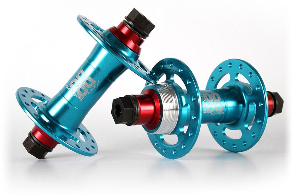Leafcycles Fixed-Gear premium parts - Trixter Fixed-Gear Nabensatz - blau