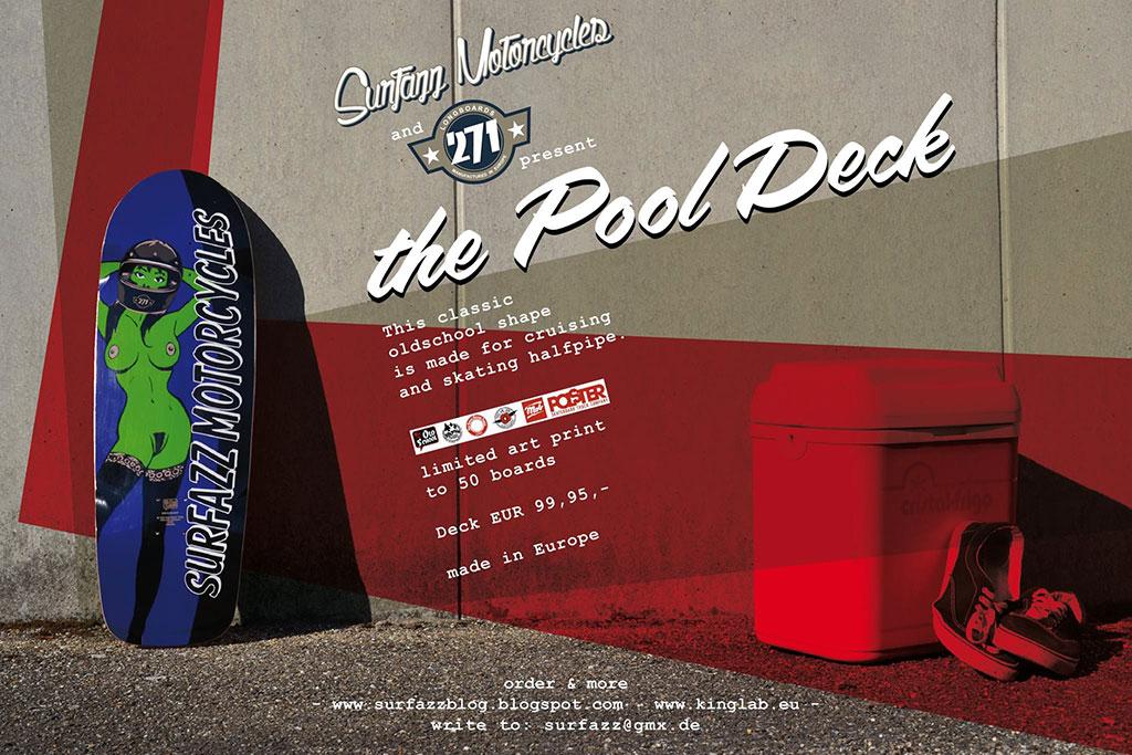 271 skateboards naked lady pool deck